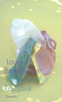 Omslag Flessenpost uit Reykjavik - Laura Broekhuysen
