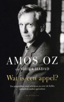 Omslag Wat is een appel? - Amos Oz, co-auteur Shira Hadad