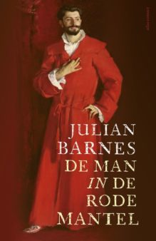 Omslag De man in de rode mantel - Julian Barnes