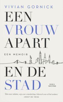 Omslag Een vrouw apart en de stad - Vivian Gornick
