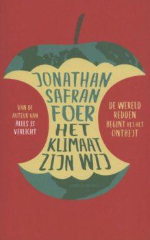 Omslag Het klimaat zijn wij - Jonathan Safran Foer