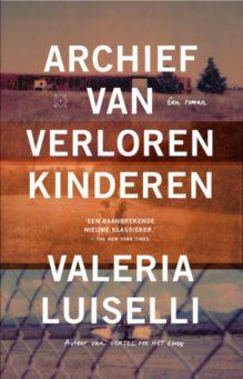 Omslag Archief van verloren kinderen - Valeria Luiselli
