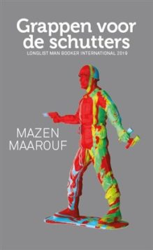 Omslag Grappen voor de schutters - Mazen Maarouf