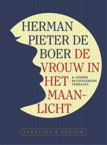 Omslag De vrouw in het maanlicht - Herman Pieter de Boer